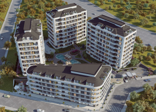 1+1 Flats In Fastest Developing And Most Central Locations Of Istanbul