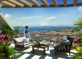 Sea View And Forest Together! Investment Apartments İn Kartal
