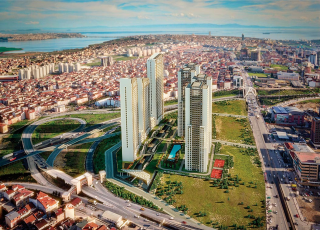 Watch Istanbul From A Panoramic Lake And Sea View