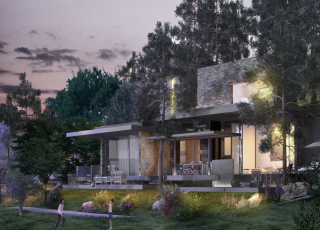 Villas; Integrate Nature, Respects The Environment, Modern Design