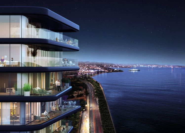 Comprehensive Project With 1+1 Flats  At Zeytinburnu Shore