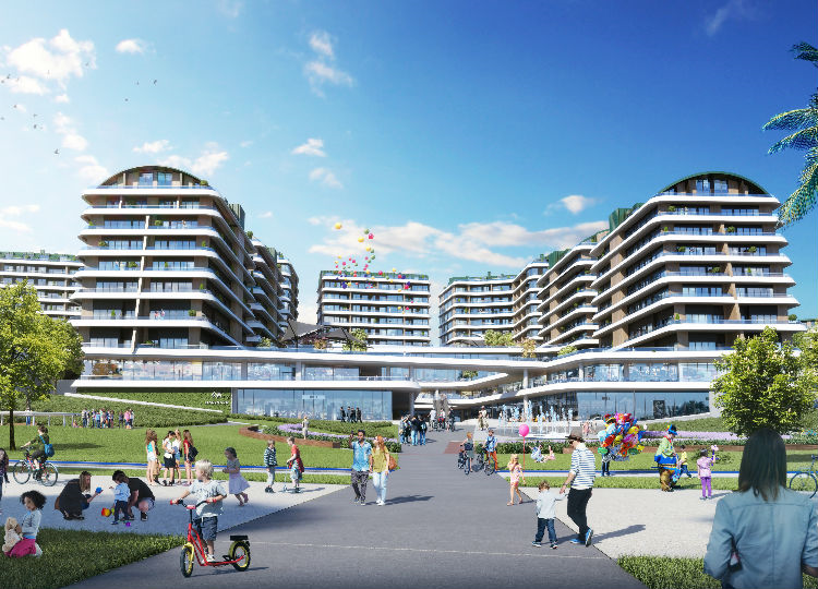Project In Mimaroba, Most Beautiful Coastal Settlements In Istanbul