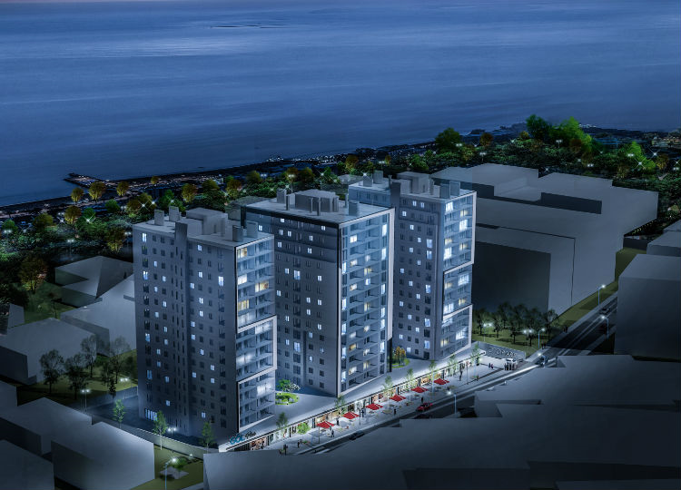 2+1 Apartments Facing The Lake & Sea And Center Part Of Life