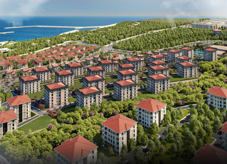 Apartments With Large Variety  Sports Facilities, And Great Sea Scape