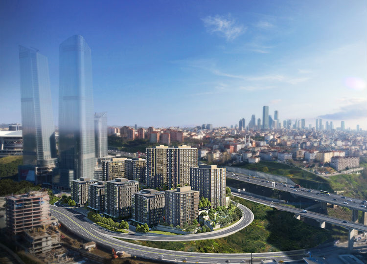 In The Hearth Of Istanbul Apartments Under Government Guarantee