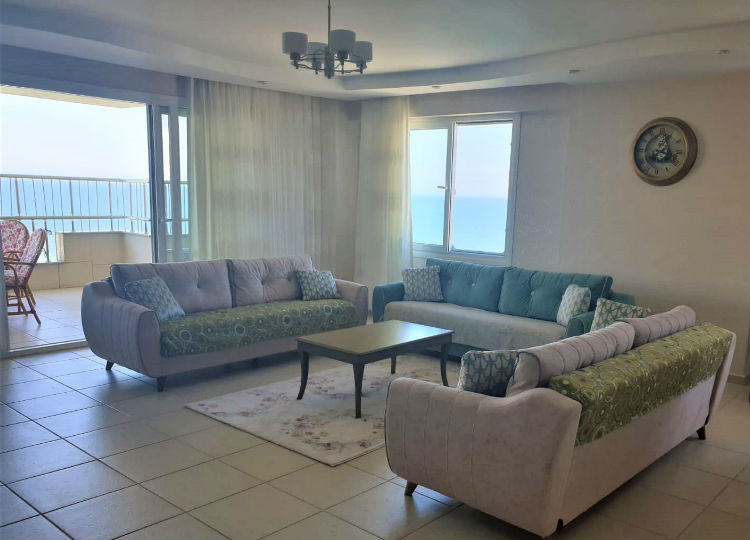 Renovated, Fully Furnished, 3 + 1 Apartments With Sea View