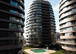 Apartments In Bakırköy Overlooking The City Park And The Sea